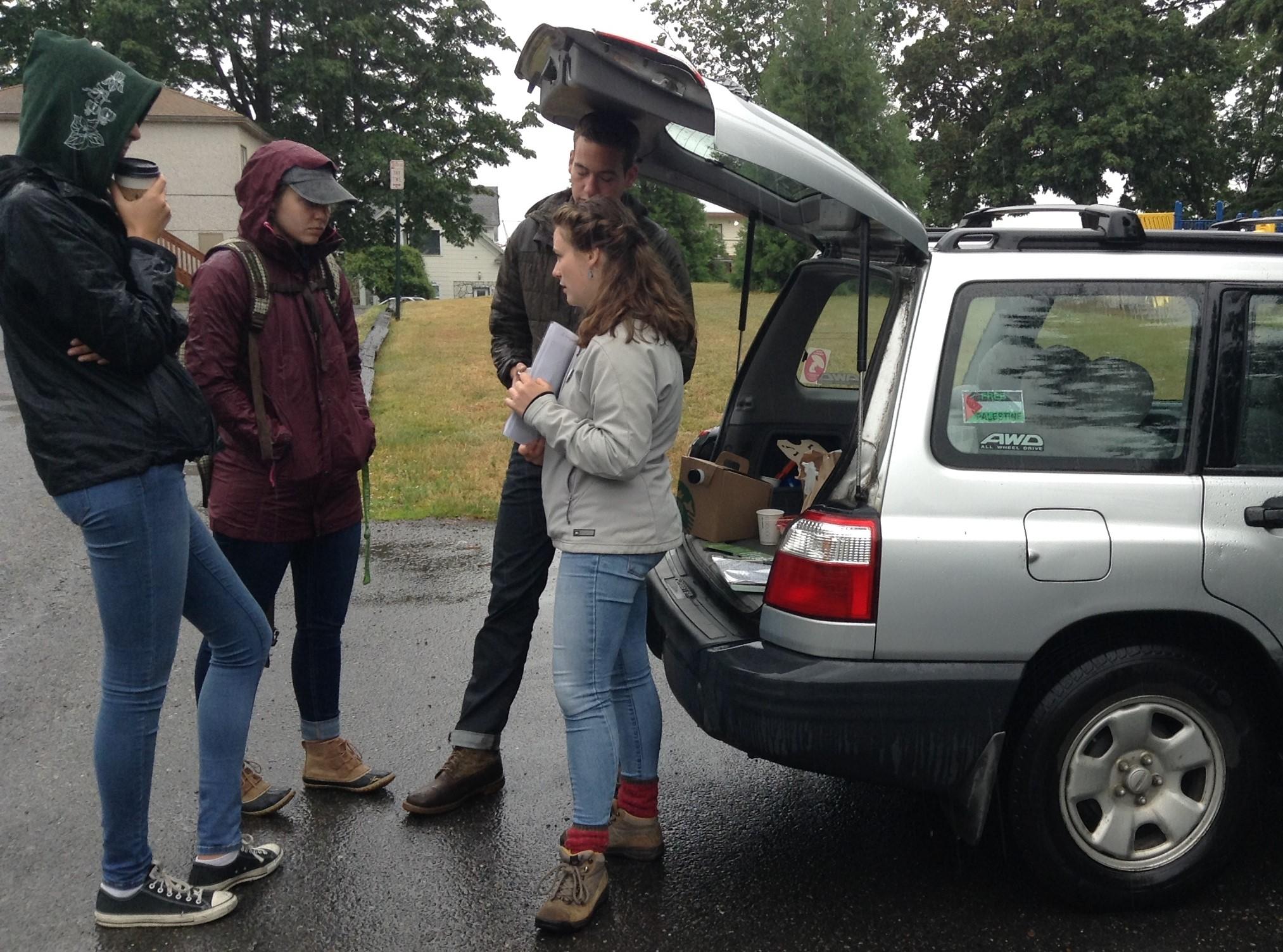 Rheanna Johnston, Emma Hewitt, Sally Wheldon, and David Jackman.