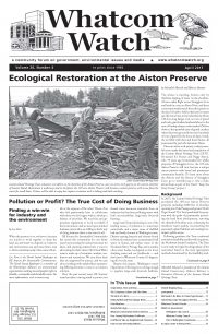 April 2017 Front Page Whatcom Watch