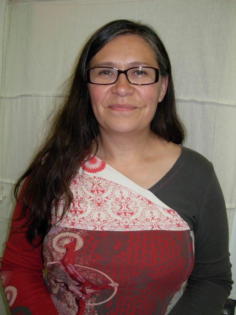 Maru Mora Villalpando at her office. photo: K. Fentress