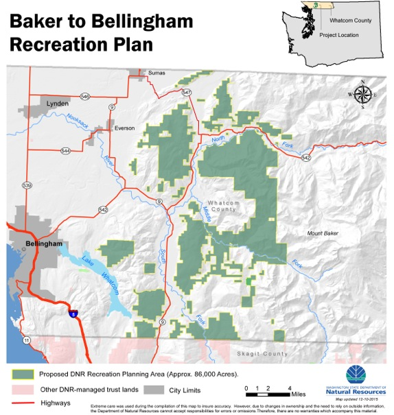 """State Proposes Adding """"Motorized Trail Systems"""" in Whatcom County on"""